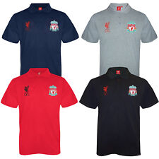 Liverpool FC Official Football Gift Mens Crest Polo Shirt (RRP £24.99!)