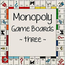 game part Monopoly game board YOU CHOOSE not complete game V3