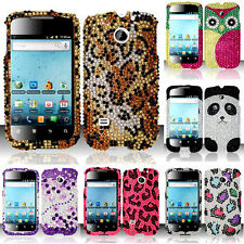 BLING Hard SnapOn Protector Phone Cover Case G-1 for HUAWEI PRISM SUMMIT U8651