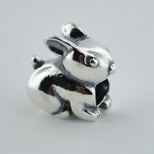 Sterling Silver 925 European Charm Bunny Rabbit Bead 88103