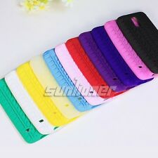 Tire Pattern Soft Silicone Gel Skin Case Cover for Samsung Galaxy S5,G900A