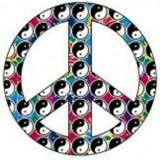 NEW HIPPY PEACE T-SHIRT - Yin Yang Peace Symbol
