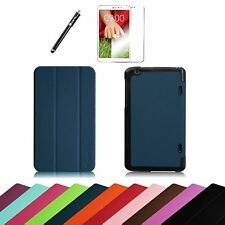 "For LG G Pad 8.3"" Verizon Tablet 4G LTE VK810 Smart Shell Cover Case + Protector"