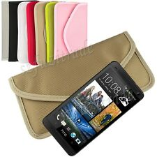 Stop GPS Tracking/Hacking Case Cover RF Signal Blocker/Jammer For HTC One M7 New