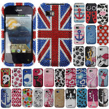 For T-Mobile LG MYTOUCH Q C800 Case Bling Accessory HARD Cover Phoenix Tail