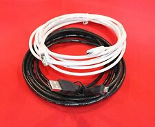 Extra Long 10 Ft / 3m Charger and Data Sync Transfer Micro USB Cable For Tablets