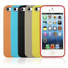Leather Case Cover Slim Protect For MF045LL/A Apple iPhone 5/5S Colorful