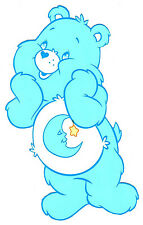 "6.5-10.5"" CARE BEARS BEDTIME BEAR  CHARACTER WALL SAFE STICKER BORDER CUT OUT"