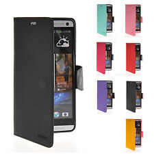 Flip Leather Wallet ID Card Stand Magnetic buckle Case Cover For HTC One Max T6