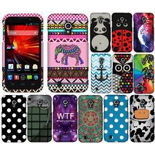 For ZTE Majesty Z796C Source N9511 Turtle Snap On HARD Case Cover Accessory