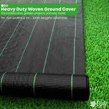 Ground cover, Landscape fabric, Weed membrane 4m Pegs Staples