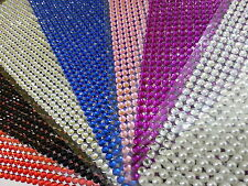 1500 x 5mm Self Adhesive Rhinestones Sheet Stick on Gems Craft Vajazzale Wedding