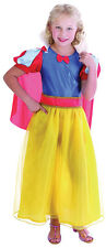 SNOW WHITE GIRL FAIRY TALE FANCY DRESS COSTUME ALL AGES BOOK WEEK