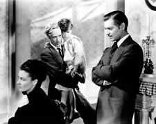 CLARK GABLE LESLIE HOWARD ANN RUTHERFORD GONE WITH THE WIND SCENE PHOTO OR POSTE