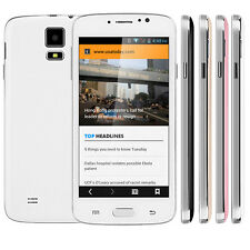 "5"" Unlocked Android 4.4 2Core Dual Sim Smartphone 3G/GSM WCDMA GPS Cell Phone"