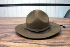 Drill Sergeant Mountie Police Hat Costume Ranger State Trooper Highway Patrol