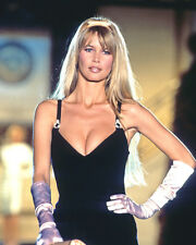 CLAUDIA SCHIFFER BUSTY SEXY LOW CUT DRESS PHOTO OR POSTER