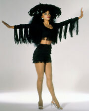 DIANA ROSS LEGGY IN TRIKING BLACK COSTUME PHOTO OR POSTER