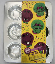 Barney and Baby Bop Mini Cake Pan from Wilton #6620