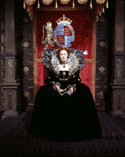 GLENDA JACKSON MARY, QUEEN OF SCOTS CLASSIC POSE ON ROYAL THRONE PHOTO OR POSTER