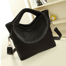 Vintage Women Lady Celebrity PU Leather Tote Hobo Crossbody Shoulder Bag Handbag