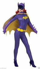 BATGIRL GRAND HERITAGE ADULT WOMENS COSTUME 60s Classic Purple Cosplay Lycra