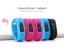 Bluetooth Smart Wristband Healthy Bracelet Sports Sleep Tracking Fit for Android