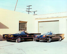 BATMAN TWO BATMOBILES ON STUDIO LOT RARE PHOTO OR POSTER