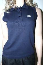 NEW Ladies FILA Sleeveless T-Shirt Sports Top Blue Black Grey Size XS S M XL