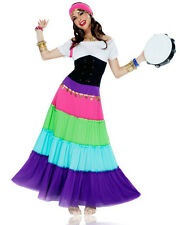 ADULT SEXY GYPSY TAROT FORTUNE TELLER PIRATE RENAISSANCE GYPSY COSTUME