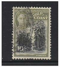 Gold Coast - 1948, 10s Forest stamp - G/U - SG 146