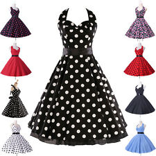 CHEAP❤New 8 Style Vintage Rockabilly Wedding Swing 40s 50s Housewife Jive Dress❤