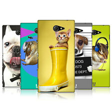HEAD CASE FUNNY ANIMALS PROTECTIVE COVER FOR SONY XPERIA M2