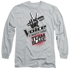 The Voice Reality Singing Contest TV Show Team Blake Adult Long Sleeve T-Shirt