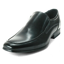 Men's Slip on Dress Shoes Moc Toe Leather Lined Formal Sleek Venetian Loafers