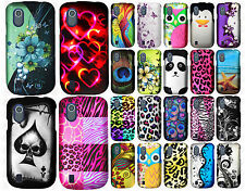 For ZTE Midnight Z768G Rubberized HARD Protector Case Snap Phone Cover Accessory
