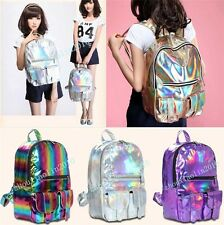 HOLOGRAPHIC Gammaray hologram backpack harajuku shoulder School bag Tote laptop
