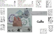 CARD-IO MAJESTIX CLEAR STAMP sets ONE CLEAR ACRYLIC PEG / ROD