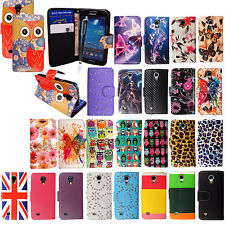 FOR SAMSUNG GALAXY S4 MINI I9190 BOOK SIDE CARD HOLDER LEATHER FLIP COVER+STYLUS