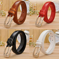New Fashion Women Leather Casual Pin Buckle Waist Belt Waistband Thrifty