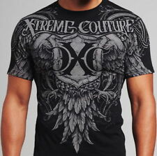 Xtreme Couture AFFLICTION Mens T-Shirt DARING Wings Tattoo Biker UFC M-XXL $40