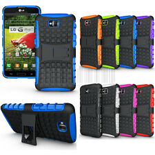 Rugged Armor Heavy Duty Hybrid Case Stand Cover For LG G Pro Lite D682 D686 D680