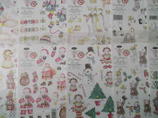 A5 Die Cut Cardmaking Decoupage Sheet Jolly Nation Christmas Various Designs