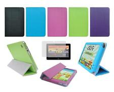 "Folio Cover Skin Case and Screen Protector for ACER ICONIA 7"" 8"" 10.1"" Tablet"