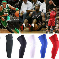 Honeycomb Foam Pad Crashproof Antislip Basketball Leg Knee Long Sleeve Dwd XL 3X