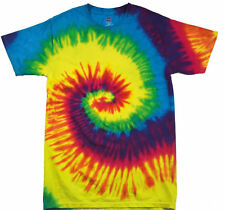 Tie-Dye Rainbow Style Fashion Holiday Psychedelic T-Shirt - All Sizes Available