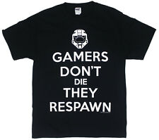 Gamers Don't Die - Halo T-shirt