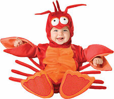 Infant Toddler Baby Lil Lobster Animal Costume Halloween