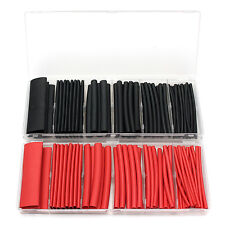53Pcs 3:1 Dual Wall Adhesive Glue Lined Heat Shrink Tubing Tube Sleeving 6 Sizes