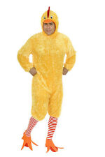 ADULT MENS YELLOW FUNKY CHICKEN BIRD FARM ANIMAL COSTUMES ROOSTER COCK